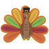 Turkey Clothespin Craft Kit