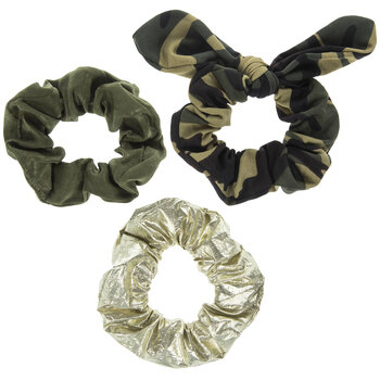 Camouflage Scrunchies