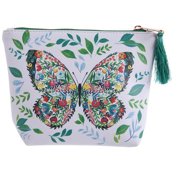 Floral Butterfly Pouch