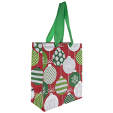 Noel Ornaments Gift Bag