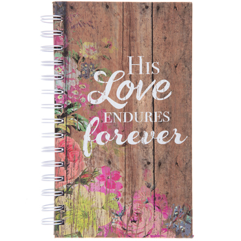 His Love Endures Forever Journal