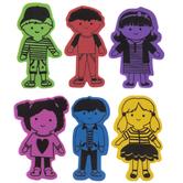 World Kids Foam Stickers