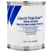 White Liquid First Coat Oil Color