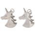 Unicorn Head Charms
