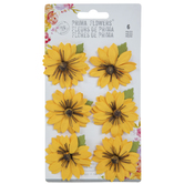 Yellow Schweinitz Flower Embellishments