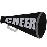 Cheer Megaphone 3D Sticker