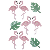 Flamingo 3D Stickers