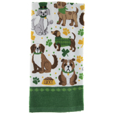 Lucky Dogs Kitchen Towel