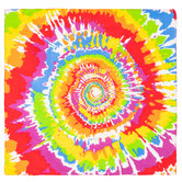 Bright Tie-Dye Bandana