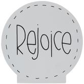 Rejoice Bubble Wood Decor