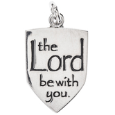 The Lord Be With You Charm