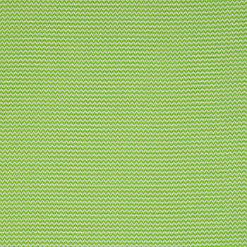 Lime Mini Chevron Cotton Calico Fabric
