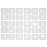 Mirabell Alphabet Adhesive Stencils