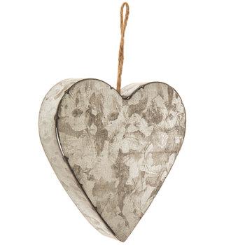Heart Galvanized Metal Wall Decor