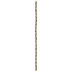 Faceted Metal Bead Strand