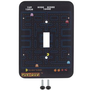 Pac-Man Single Switch Plate