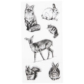 Wildlife Clear Stamps