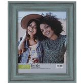 """Rustic Turquoise Beveled Wall Frame - 8"""" x 10"""""""