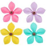 Beaded Paper Flower Embellishments
