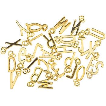 Thin Uppercase Alphabet Charms