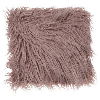 Shaggy Faux Fur Pillow