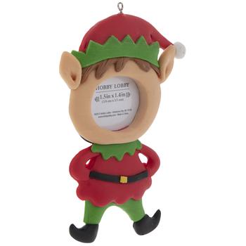 Elf Frame Ornament