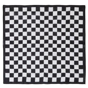 Black & White Checkered Bandana