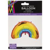 Foil Rainbow Balloon