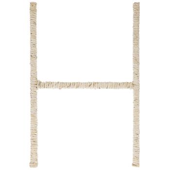Cornstalk Wrapped Letter Wall Decor - H