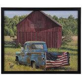 American Barn & Truck Wood Wall Decor