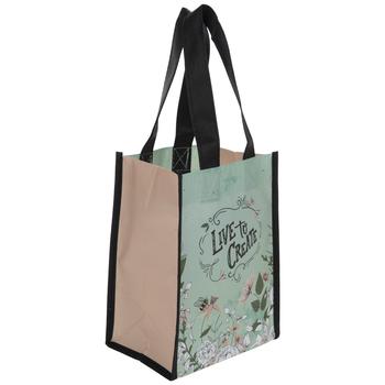 Live To Create Tote Bag