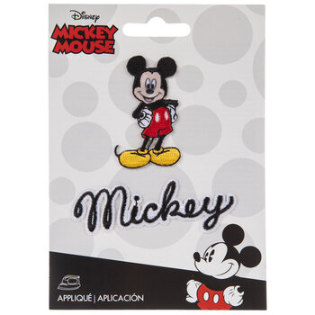 Mickey Mouse Iron-On Appliques