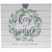 Keep It Simple Calendar