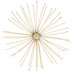 Wire Flower Metal Wall Decor - Large