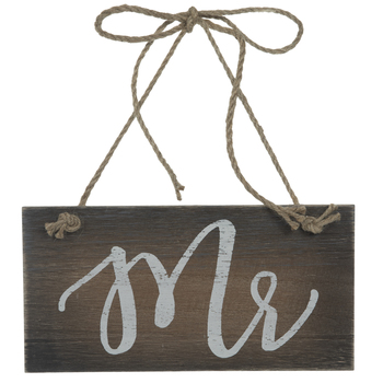 Mr Wood Chair Sign