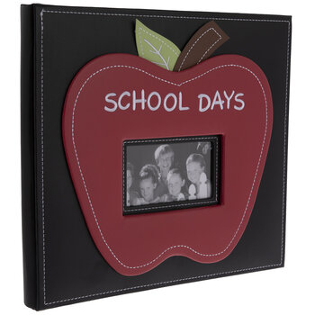 "School Days Post Bound Scrapbook Album - 12"" x 12"""