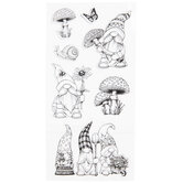 Garden Gnome Clear Stamps