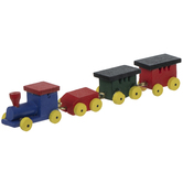 Miniature Wood Train