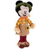 Minnie Mouse Plush Scarecrow