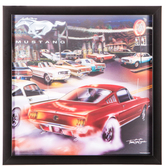 Ford Mustang 3D Wall Decor