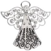 Swirl Angel Pendant