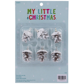 Frosted Pinecone Mini Ornaments