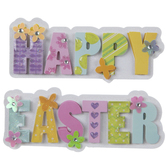 Happy Easter 3D Stickers