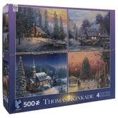 Thomas Kinkade Holiday Puzzles