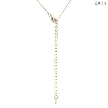 "Cultured Pearl Drop Y-Shape Necklace - 16"""