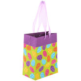 Patterned Eggs Gift Bag