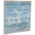 Painted Sailboats Wood Wall Decor