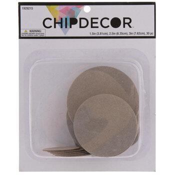 Circle Chipboard Shapes