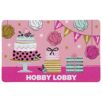 Birthday Party Gift Card