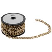 Gold Close Knit Chain Trim